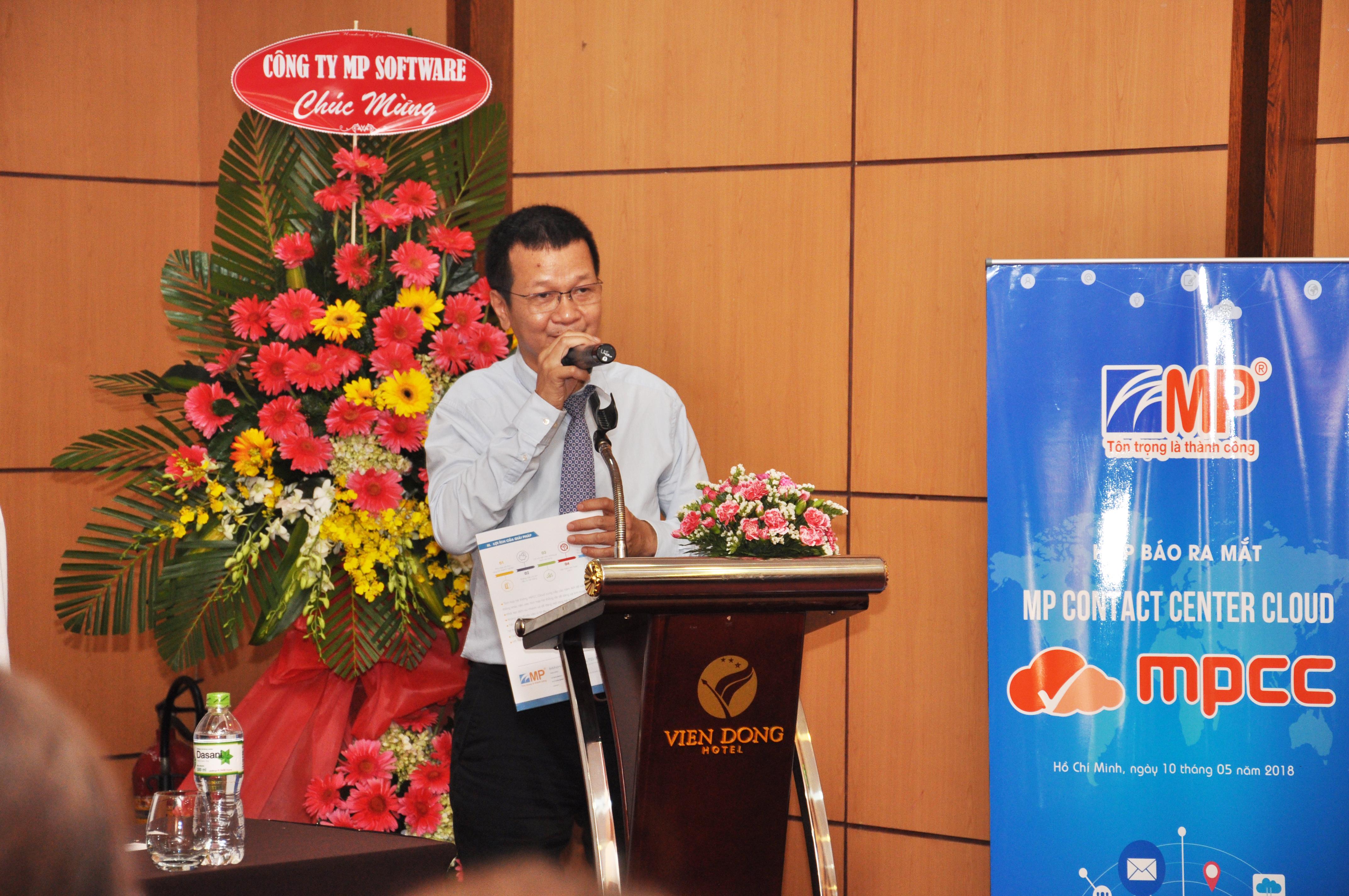 Ông Nguyễn Việt Trung – Tổng Giám Đốc Công ty Minh Phúc.
